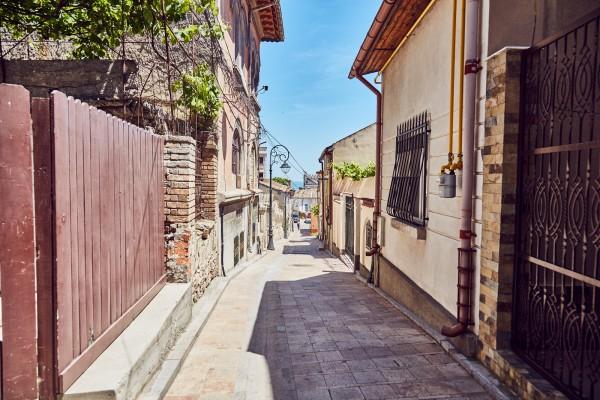 La pas in Centrul Vechi al Constantei