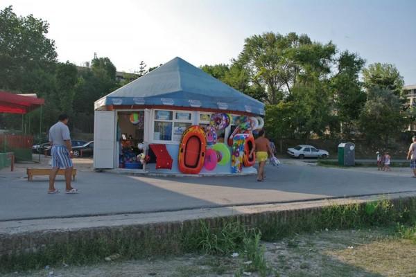 Magazin cu accesorii pentru plaja
