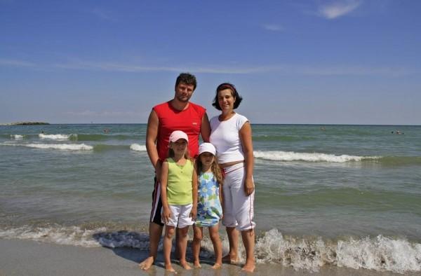 O familie fericita