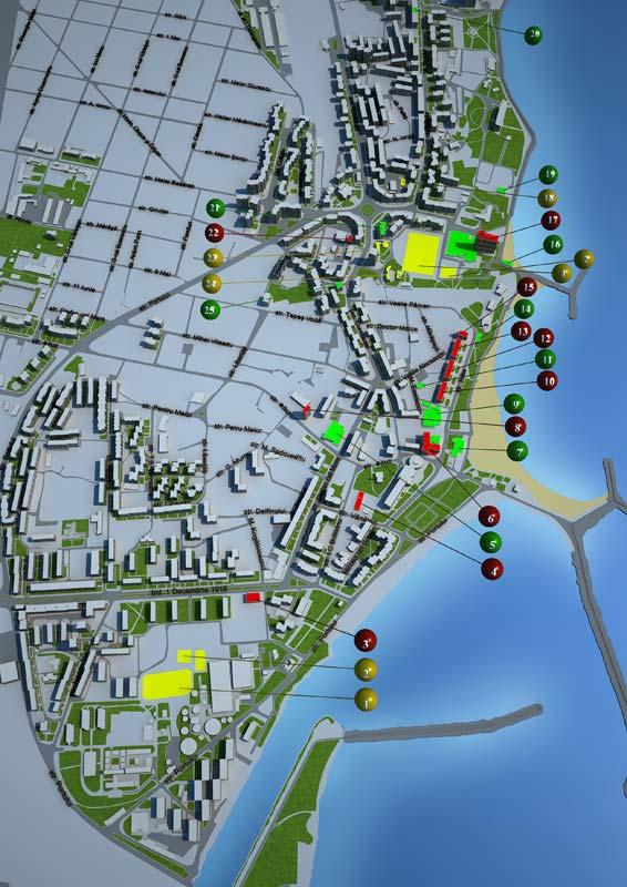 Harta Mangalia Pozitionarea Hotelurilor Pe Harta