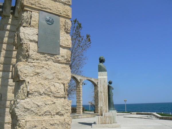 Statuia lui Mihai Eminescu Constanta
