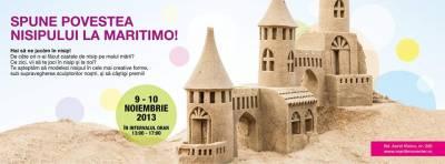 Atelier de sculptura in nisip