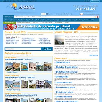 Litoralulromanesc.ro, in topul celor mai accesate website-uri de profil