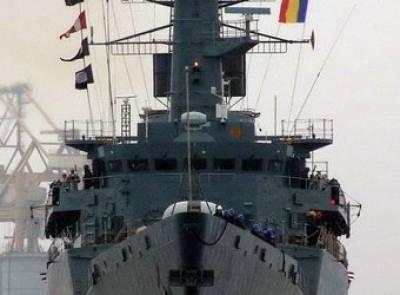 Expozitie pe fregata