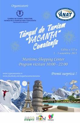 Targul de Turism VACANTA Constanta, editia a III-a