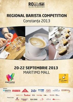 Arta prepararii cafelei - Regional Barista Competition 2013