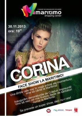 Corina face show la Maritimo!