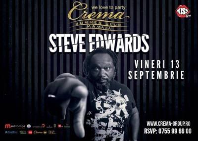Evenimentul toamnei, pe litoral! Steve Edwards, in concert la Mamaia!