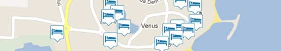Venus map