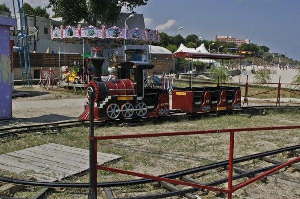 Parcul de distractii din Mangalia