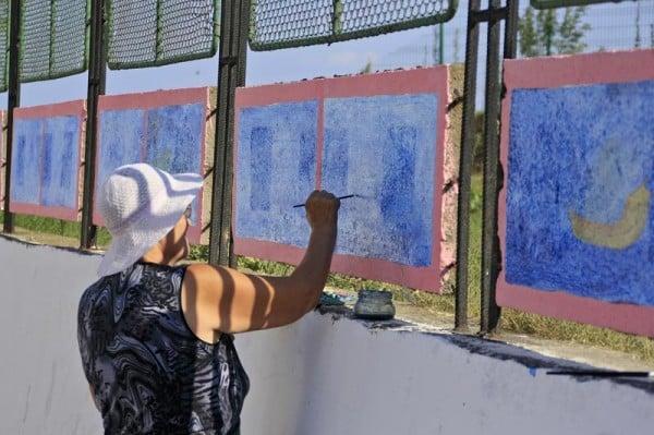 Picturi pe zid... Mangalia
