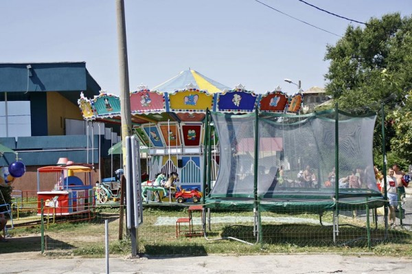 Parcul de distractii din Eforie Sud