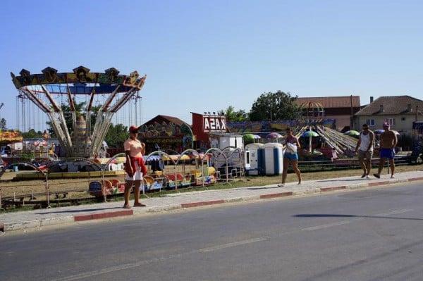 Parcul de distractii din Costinesti