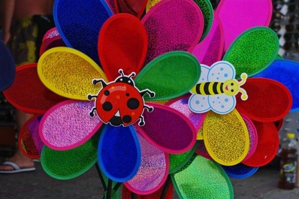 Moristi colorate pentru copii