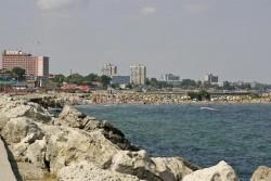 Priveliste de pe Plaja Mangalia