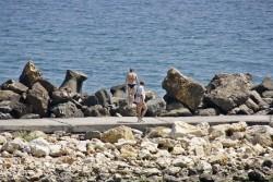 Pe plaja ... Eforie Sud