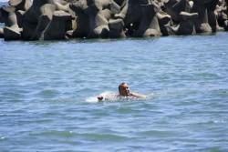 Mersul prin apa ...