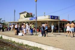 Vine vacanta cu trenul din Constanta