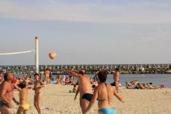 Volei pe plaja ... Venus
