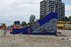 Saltea pe plaja
