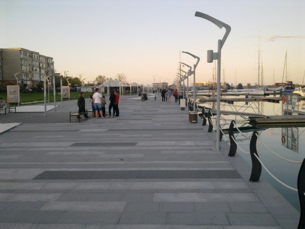 The Touristic Harbor Mangalia