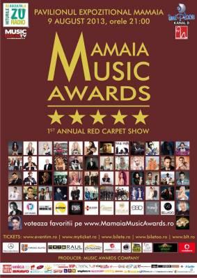 Mamaia Music Awards, cel mai asteptat eveniment muzical de pe litoral