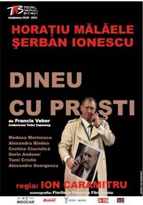 Comedie cu Horatiu Malaele si Ion Caramitru - Casa de Cultura va invita la